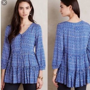 Maeve Anthropologie top D5
